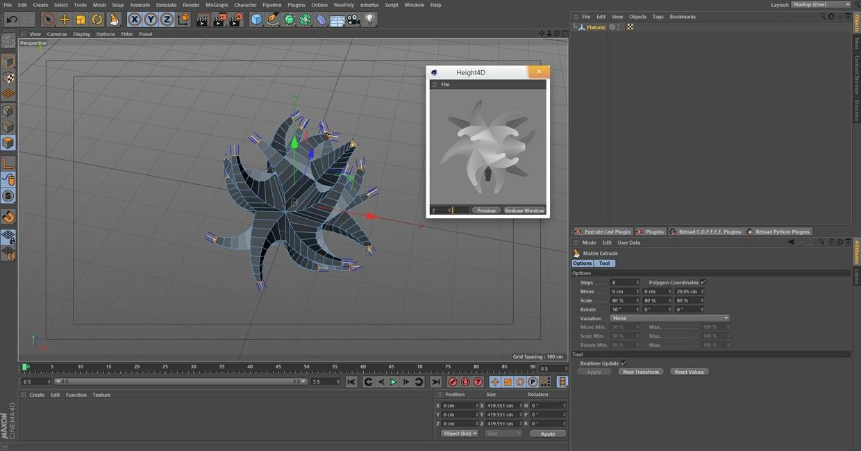 Height4D - Create Heightmaps inside of Cinema4d