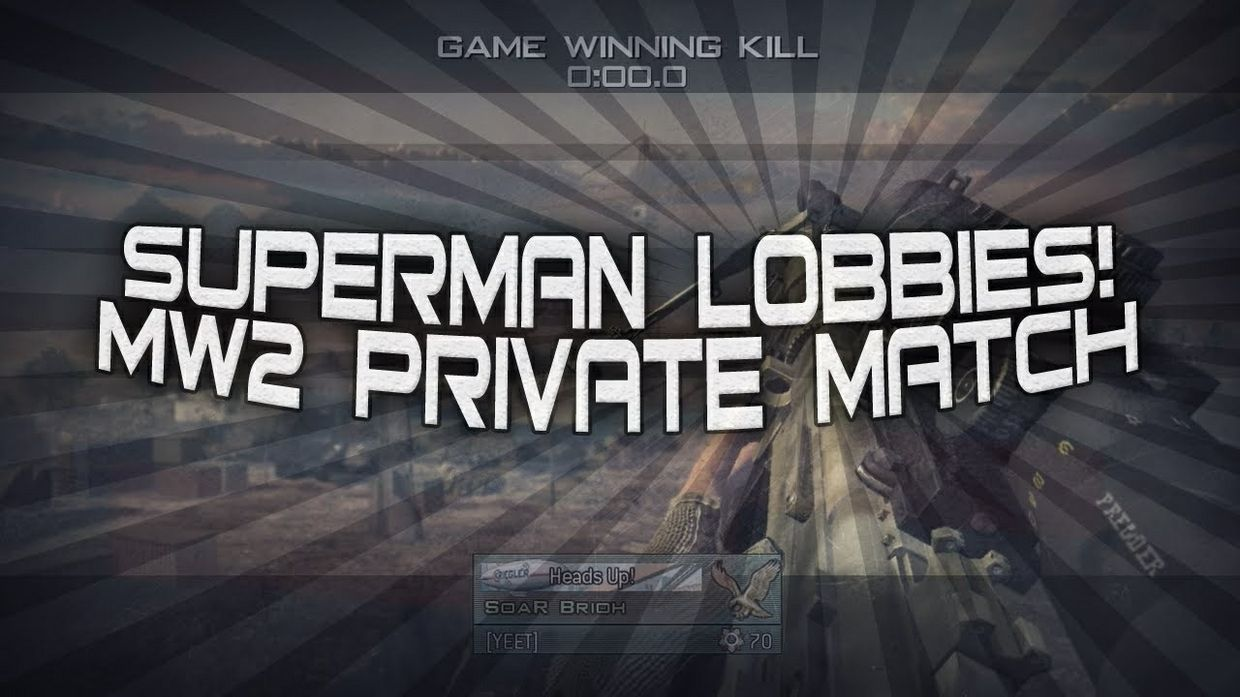 MW2 Superman Lobby