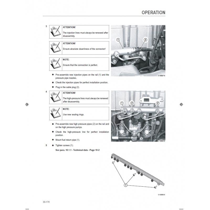Deutz Fahr Agrotron X710, X720 Tractors Workshop Service Repair Manual PDF