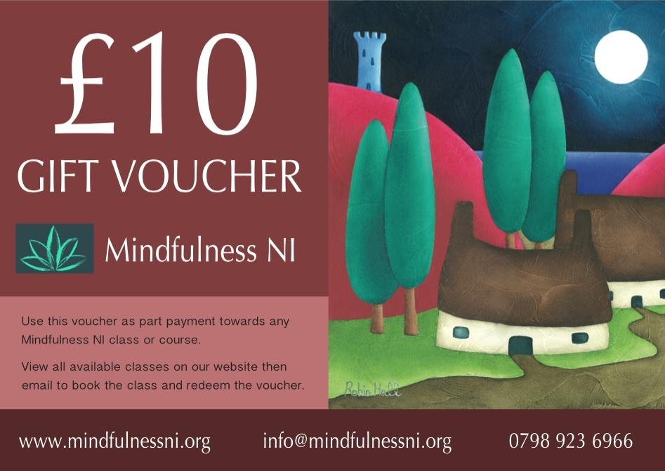 Mindfulness NI £10.00 Gift Voucher