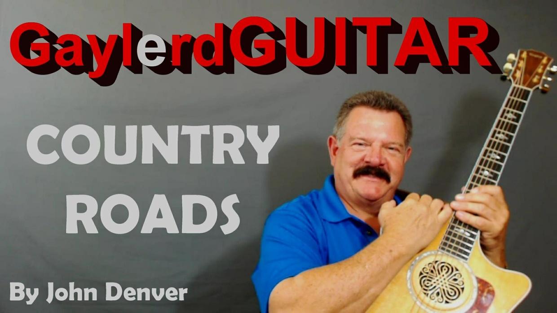 COUNTRY ROADS by John Denver
