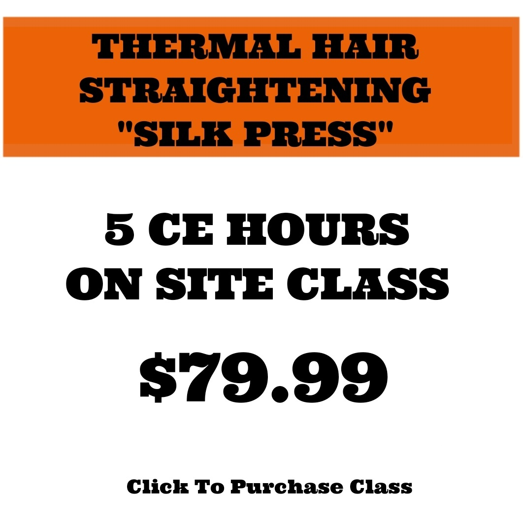 (ON-SITE) THERMAL HAIR STRAIGHTENING-SILK PRESS