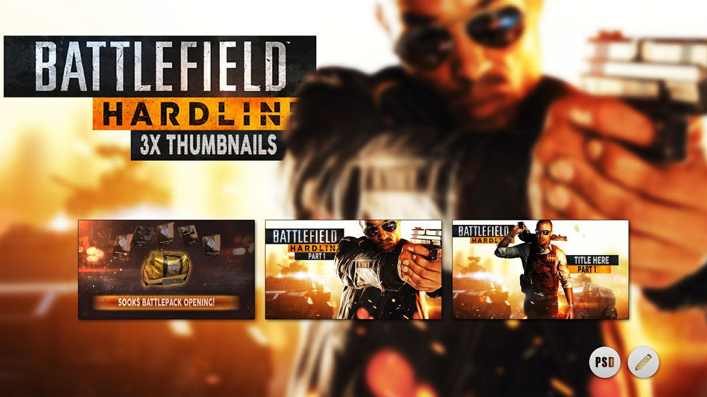 Battlefield Hardline   3x Thumbnails