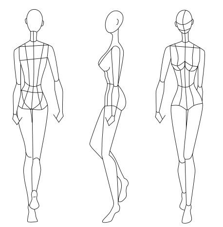 Fashion Figure Template