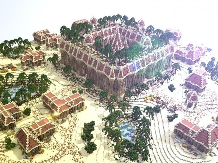Minecraft Faction Spawn