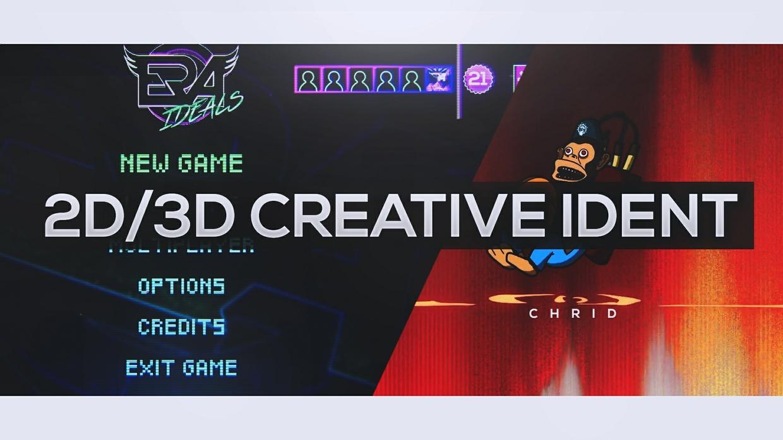 2D/3D Creative Ident