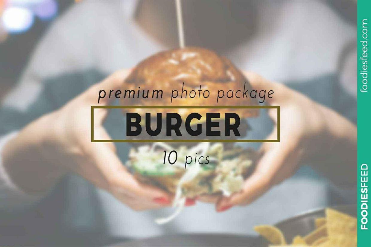 Burger - 10 Premium Photos - foodiesfeed.com