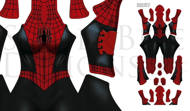 Spider Girl black