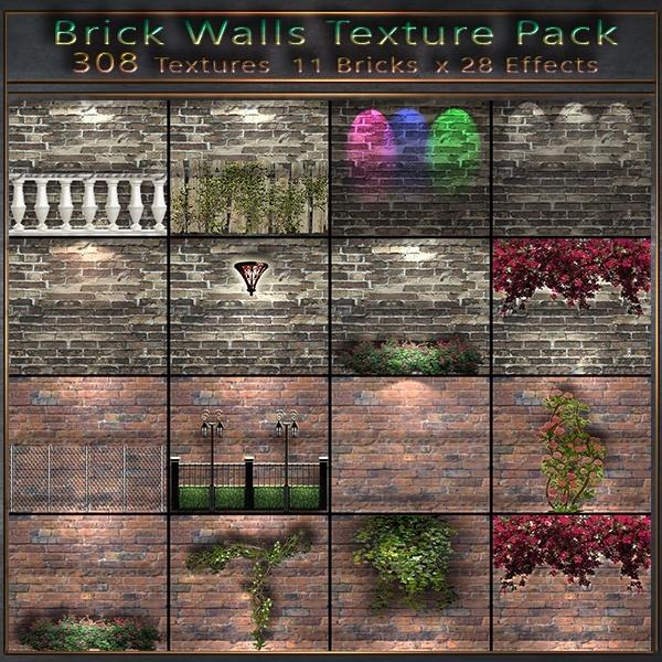 J2 Brick Wall  308 Textures