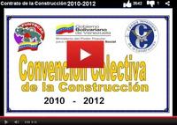 Contrato colectivo de la industria de la construcción venezolana vigente al 2010 2012