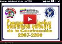 Contrato colectivo de la industria de la construcción venezolana vigente al 2007 2009