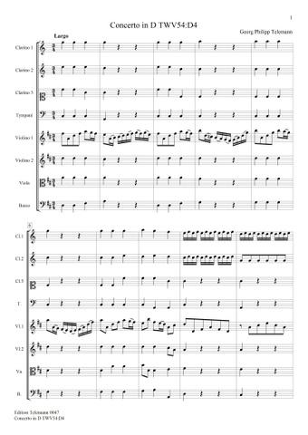 0047 Concerto in D