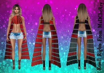 6 Shawls Textures Catty Only!!!
