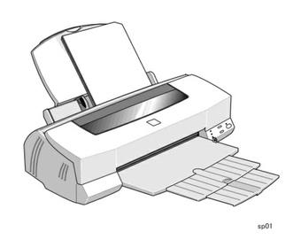 Epson Stylus PHOTO 1200 Color Inkjet Printer Service Repair Manual