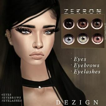 Zekron Eyes, Brows & Lashes