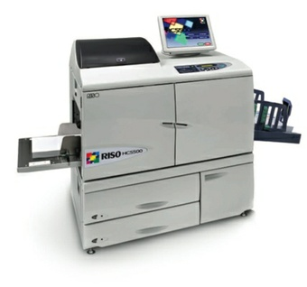 RISO HC5500 Digital Color Printer Service Repair Manual