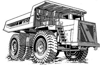 Terex TR100 Mining Truck Service Repair Manual