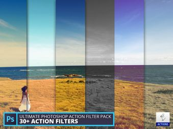 Ultimate Photoshop action filter pack (vol.1)