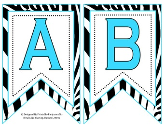 5-inch-swallowtail-blue-aqua-black-zebra-printable-banner-letters-a-z-0-9