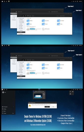Deepin Theme For Windows 10
