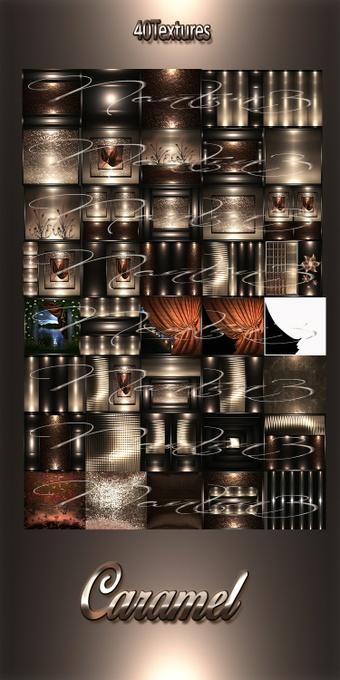 CARAMEL FILES 40Textures 256x256jpg.