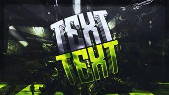Text 3D Effect Template