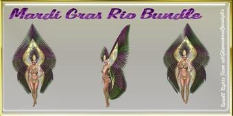 Mardi Gras Rio Bundle Catty Only!!!