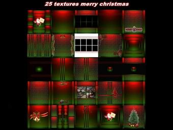 25 christmas textures