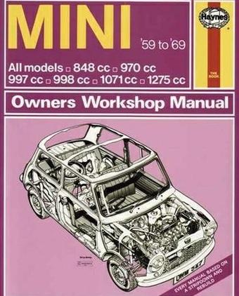 BMW Mini 1959-1969 Workshop Manual