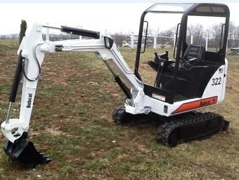 Bobcat 320, 320L, 322 Hydraulic Excavator (D Series) Service Repair Manual (223811001 , 223511001 )