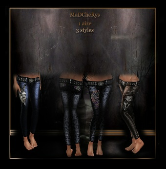 MaD Files 3 styles jeans