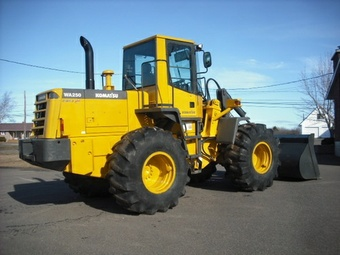 KOMATSU WA250PT-3MC WHEEL LOADER SERVICE REPAIR MANUAL + OPERATION & MAINTENANCE MANUAL