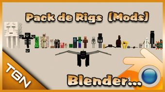 Pack de Rigs De Blender (Mods)