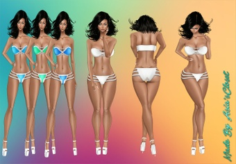 CuteKini v2 21 Colors Resell Rights!!!