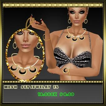 set mesh jewelry 15