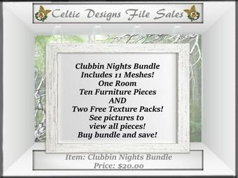 CD Clubbin Nights Mesh Bundle