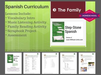 Homeschool Spanish: The Family
