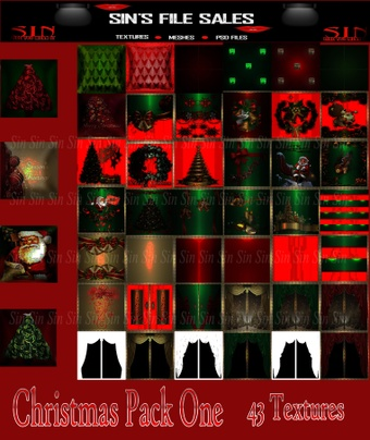 Christmas Textures Pack One