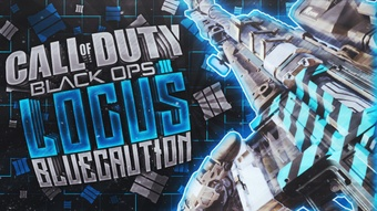 Locus - Blue Caution - Black Ops 3 - Thumbnail Singles Pack