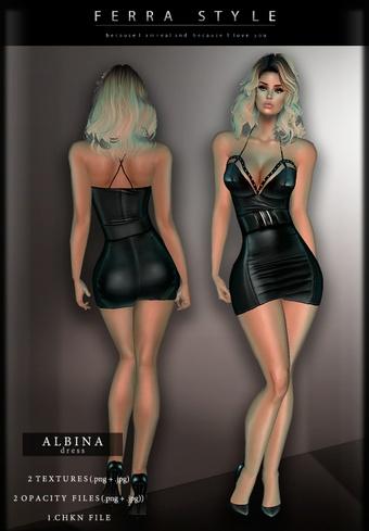 :: ALBINA DRESS ::
