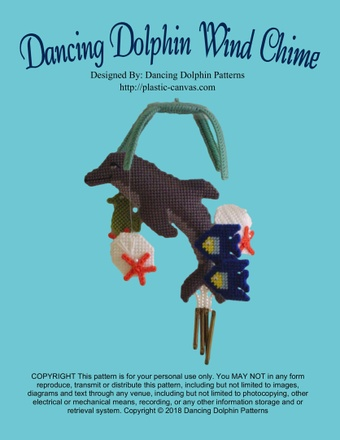 079 - Dancing Dolphin Wind Chime