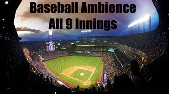 Ambience Hub - Baseball Ambience - All 9 Innings