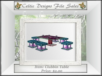 CD Clubbin Table