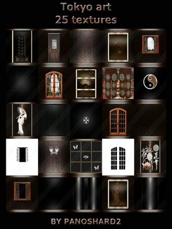 Tokyo art 25 textures room imvu