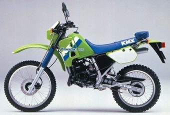 1988 KAWASAKI KMX125 MOTORCYCLE SERVICE REPAIR MANUAL