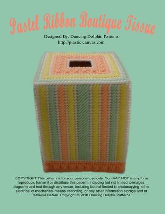 169 - Pastel Ribbon Boutique Tissue