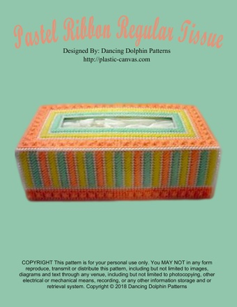 170 - Pastel Ribbon Regular Tissue