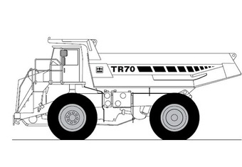 Terex TR70 Off-Highway Truck Service Repair Manual