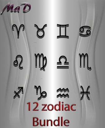 MaD 12 ZODIAC BUNDLE ONLY CATTY