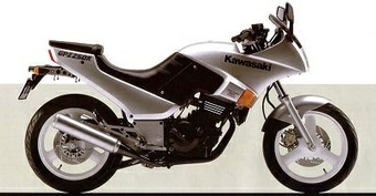 1986 KAWASAKI NINJA250R GPZ250R MOTORCYCLE SERVICE REPAIR MANUAL